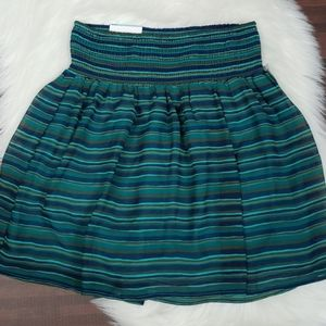 NWT Old Navy Shades of Blue and Green Skirt